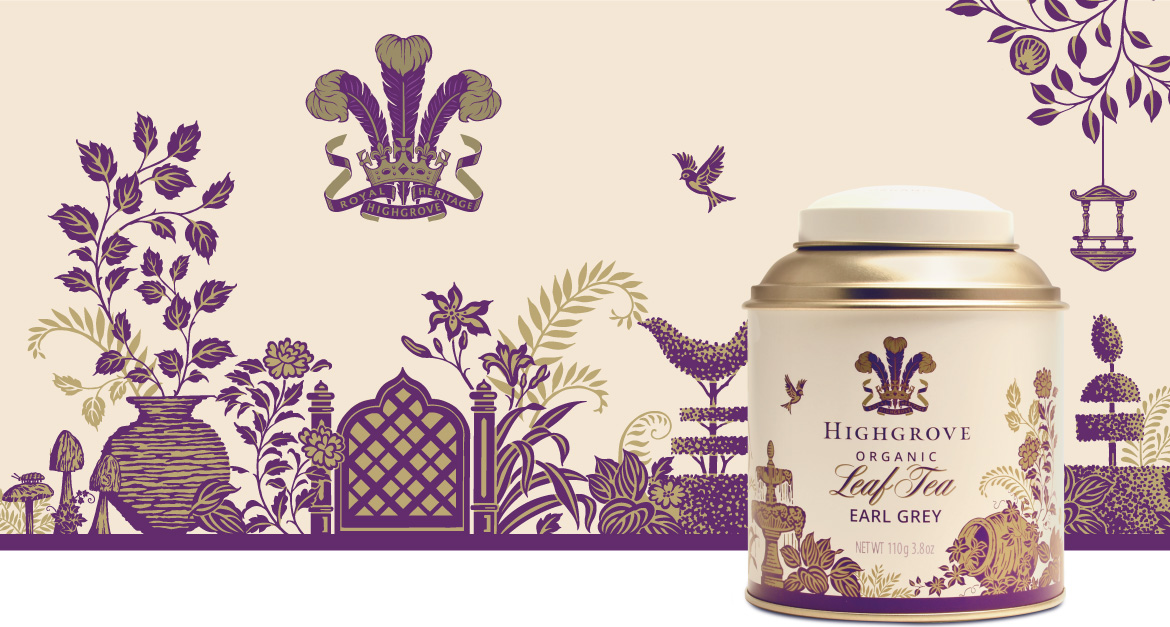 Highgrove Tea Caddy